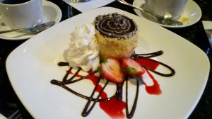 Boston Cream Pie (it's actually cake) was invented at the Parker House Hotel in 1856. We got to try it at the source.