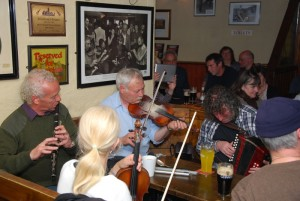Find a good local session and experience what Irish music is really all about.
