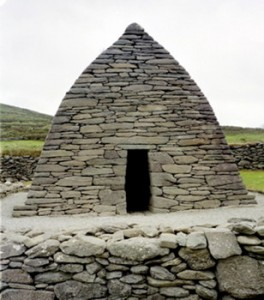 One of the archaeological wonders on the Dingle Peninsula